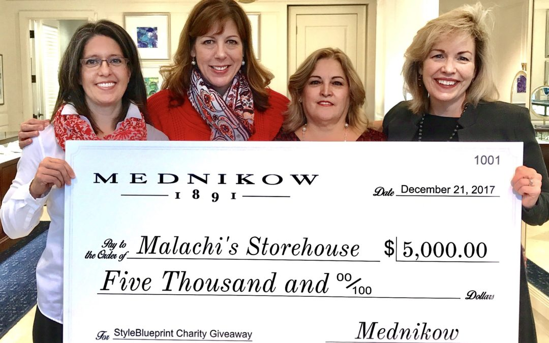 Malachi's Wins $5000 Charity Give-Away